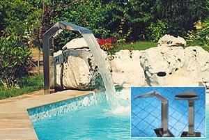 Equipaggiamento - Cascate per piscine ...
